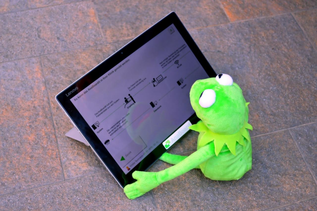Kermit Frosch: Das AnaBoard® − papierlos, digital, flexibel